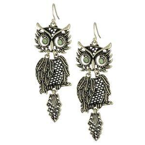 Lucky Brand Owl Earrings